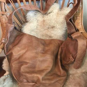 Handbags - SOLD Large leather boho bag